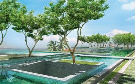 Imovel Exterior One Palm – Dubai, Emirado Árabes Unidos Vista Externa Jardins