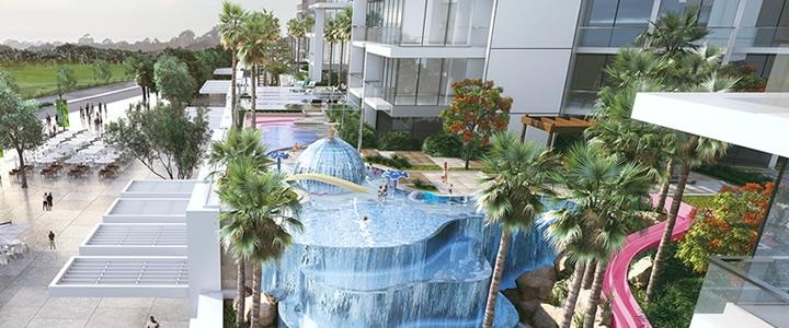 Golfotel – Dubai, Emirado Árabes Unidos Vista Piscina