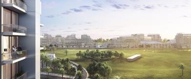 Golfotel – Dubai, Emirado Árabes Unidos Vista Comunidade