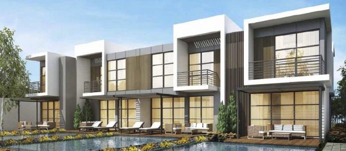 Aurum Villas - Damac, Dubai Imóvel Exterior