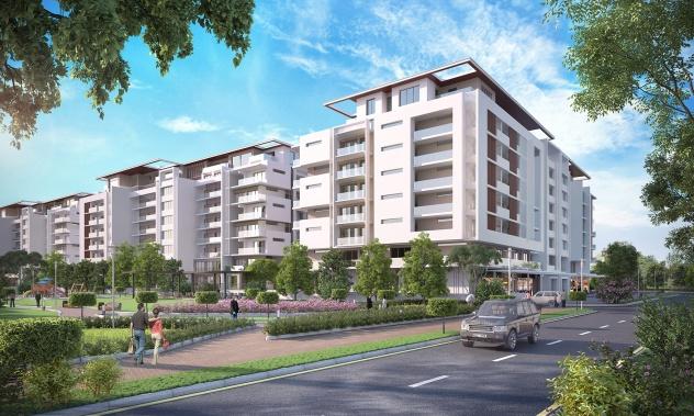 Sobha Hartland MBR Apartamentos - Bairro