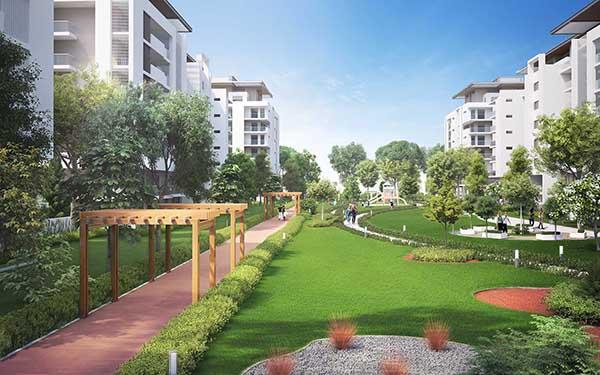 Sobha Hartland MBR Apartamentos - Vista Externa 3