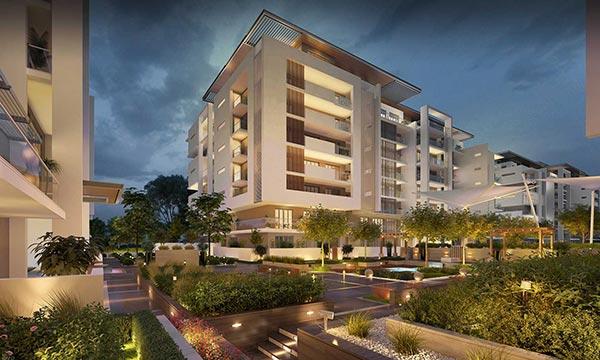 Sobha Hartland MBR Apartamentos - Vista Externa 2