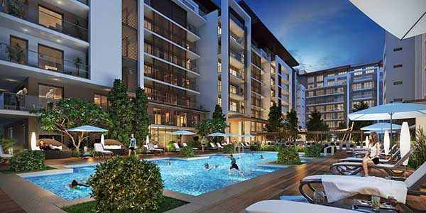 Sobha Hartland MBR Apartamentos - Vista Externa