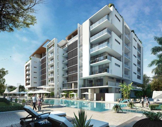 Sobha Hartland MBR Apartamentos - Piscina