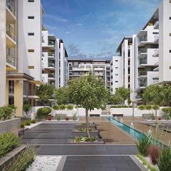 Sobha Hartland MBR Apartamentos - Área Útil