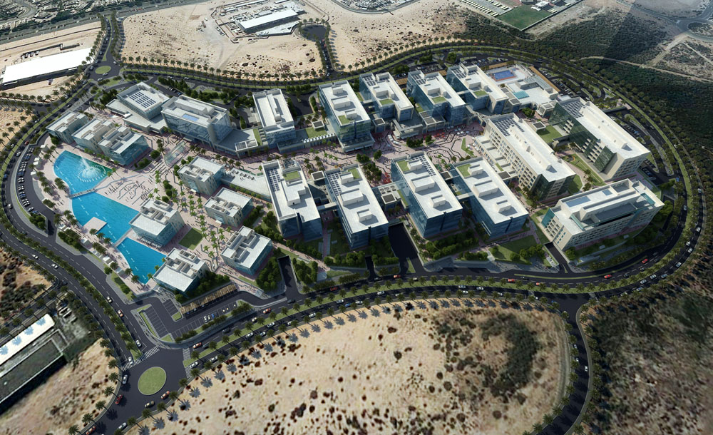 Silicon Park – Dubai Silicon Oasis Smart City