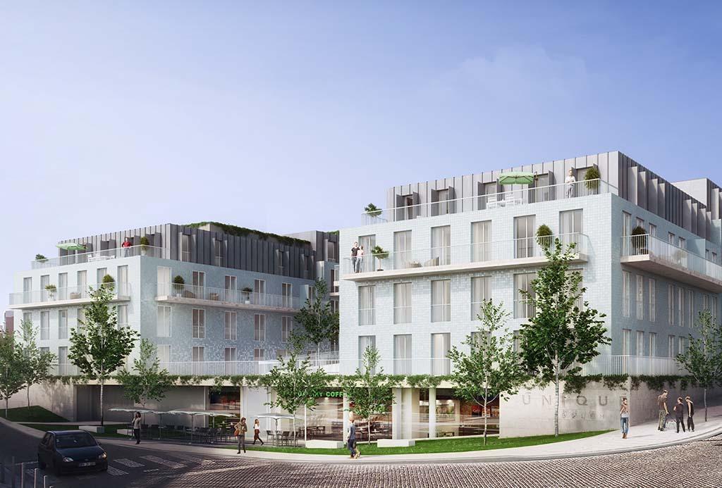 HC Imovel em Lisboa Portugal - Unique Belem - Condominio Fechado - Fachada